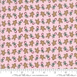 Sugar Plum Christmas 2914-14 Pink Gingerbread by Bunny Hill for Moda