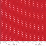 Sugar Plum Christmas 2918-16 Candy Red Dot by Moda