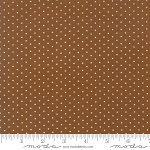 Sugar Plum Christmas 2918-17 Gingerbread Christmas Dot by Moda