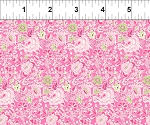 Garden Delights 2GSE4 Pink Dotted Flowers by In The Beginning