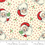 Swell Christmas 31120-11 Cream Santa by Urban Chiks for Moda