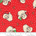 Swell Christmas 31120-13 Red Santa by Urban Chiks for Moda