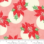Swell Christmas 31121-12 Pink Poinsettia by Urban Chiks for Moda