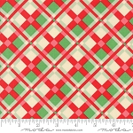 Swell Christmas 31122-11 Red Green Plaid by Urban Chiks for Moda
