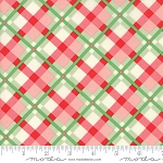 Swell Christmas 31122-18 Green Red Plaid by Urban Chiks for Moda