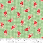 Swell Christmas 31124-14 Green Candy Cane by Urban Chiks for Moda