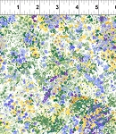 Garden Delights 3GSE3 Perwinkle Impressionist by In The Beginning