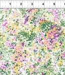 Garden Delights 3GSE4 Pink Impressionist by In The Beginning