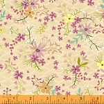 Blush & Blooms 41648-5 Peach Mini Floral by Windham