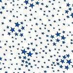Storybook Americana 42348-5 Blue on White Stars by Windham