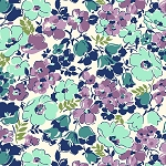 Hello Jane 42915-3 Lilac Packed Floral by Allison Harris for Windham