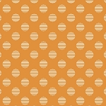 Hello Jane 42916-2 Orange Dot by Allison Harris for Windham
