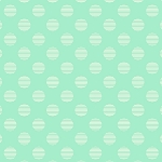 Hello Jane 42916-4 Aqua Dot by Allison Harris for Windham