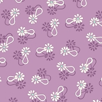 Hello Jane 42917-3 Lilac Loop Flower by Allison Harris for Windham