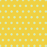 Hello Jane 42918-6 Yellow Flower Dot by Allison Harris for Windham