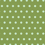 Hello Jane 42918-7 Green Flower Dot by Allison Harris for Windham