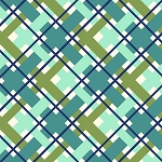 Hello Jane 42919-7 Green Plaid by Allison Harris for Windham