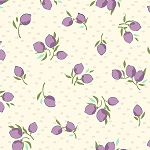 Hello Jane 42920-3 Lilac Fruit by Allison Harris for Windham