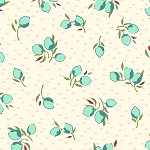 Hello Jane 42920-4 Aqua Fruit by Allison Harris for Windham