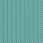 Hello Jane 42921-8 Teal Herringbone by Allison Harris for Windham