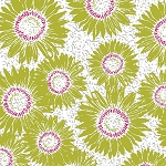 Maker's Home 43152-10 Green Sunflower by Windham