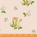 Kinder 43482-1 Pink Spring Blooms by Heather Ross for Windham