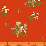 Kinder 43482-2 Red Spring Blooms by Heather Ross for Windham