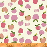 Kinder 43483-1 Pink Apples by Heather Ross for Windham