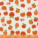 Kinder 43483-2 Red Apples by Heather Ross for Windham
