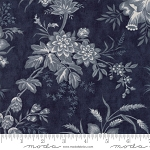 Snowberry 44140-16 Midnight Floral Toile by 3 Sisters for Moda