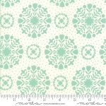Handmade 55141-12 Aqua Cream Olivia by Bonnie & Camille for Moda