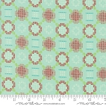 Handmade 55144-12 Aqua Cross Stitch by Bonnie & Camille for Moda