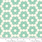 Handmade 55148-24 Aqua Grandmother's Garden by Moda