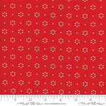 The Good Life 55152-11 Red Floral Dot by Bonnie & Camille for Moda