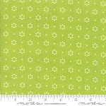 The Good Life 55152-14 Green Floral Dot by Bonnie & Camille for Moda