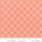 The Good Life 55152-23 Coral Floral Dot by Bonnie & Camille for Moda
