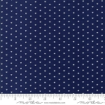 The Good Life 55154-16 Navy Whole Heart by Bonnie & Camille for Moda