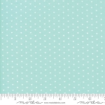 The Good Life 55154-22 Aqua Whole Heart by Bonnie & Camille for Moda