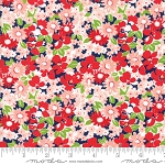 The Good Life 55155-16 Navy Flower Garden by Bonnie & Camille for Moda