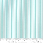 The Good Life 55157-12 Aqua Stripe by Bonnie & Camille for Moda