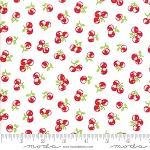 The Good Life 55158-29 Cream Red Orchard by Bonnie & Camille for Moda