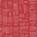 Mama Said Sew Volume II 5610-12  Apple Red Define by Moda
