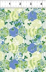 Garden Delights 7GSE2 Blue Hexagons by In The Beginning