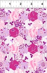 Garden Delights 7GSE3 Pink Hexagons by In The Beginning EOB