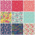 Abloom Fusion 9 Fat Quarter Set by Art Gallery