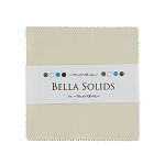 Bella Solids Charm Pack in Natural by Moda