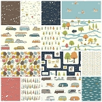 Camp Sur 3 Organic 14 Fat Quarter Set by Birch