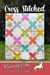 Cross Stitched Quilt Pattern by Running Doe Quilts