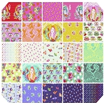 Curiouser & Curiouser 25 Fat Quarter Set by Tula Pink for Free Spirit