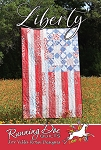 Liberty Quilt Pattern by Running Doe Quilts for Villa Rosa